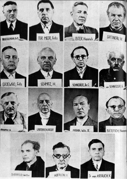 IG Farben defendents