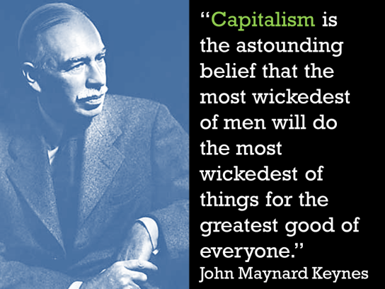 Keynes explains capitalism